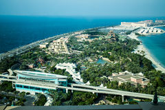 Palma, Dubaj obrazy stock