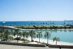 palma för de mallorca Arkivfoton