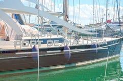 Palma-Hafen Lizenzfreie Stockbilder