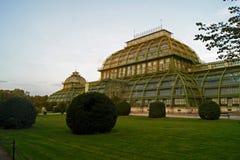 Palma Hause di Schoenbrunn nel giardino Vienna Immagini Stock Libere da Diritti