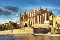 Palma Kathedrale Lizenzfreie Stockfotos