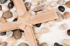 Palma krzyż Obraz Stock