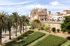 Palma - La Seu Royalty Free Stock Photography