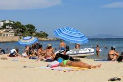 Palma Nova-toevlucht in Majorca Royalty-vrije Stock Afbeelding