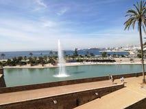Palma Parc de la Mar Immagine Stock Libera da Diritti