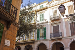 Palma street Royalty Free Stock Photography