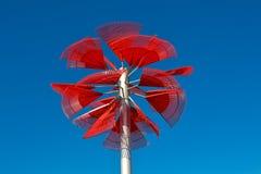 Palma vermelha - Jeff Zischke Imagens de Stock Royalty Free