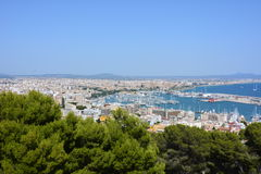 Palma View Royalty Free Stock Images
