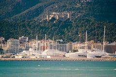 Palma waterfront stock image