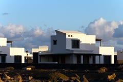 Palma y Montana Baja, Lanzarote Imagen de archivo libre de regalías