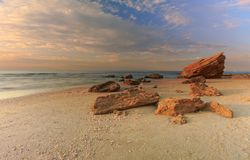 Palmachim plaża obrazy stock
