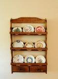 Palmaditas de mantequilla antiguas Imagen de archivo libre de regalías