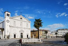 Palmanova Duomo Royalty Free Stock Photography
