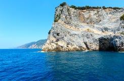 Palmariaeiland, La Spezia, Italië Stock Afbeeldingen