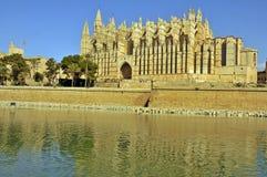 Palmas大教堂 免版税库存照片