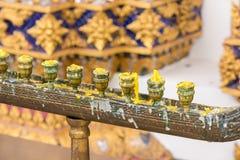 Palmatoria en los templos se han utilizado que foto de archivo libre de regalías