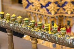 Palmatoria en los templos se han utilizado que fotografía de archivo libre de regalías