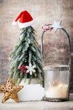 Palmatoria Linterna de la Navidad Decoración de Cristmas, saludando el Ca Foto de archivo