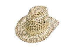 Palmblatthüte. lizenzfreies stockbild