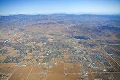 Palmdale California Aerial Stock Image