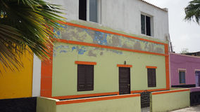 Palmeira村庄 免版税库存照片