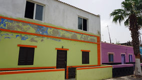 Palmeira-Dorf Lizenzfreie Stockfotografie