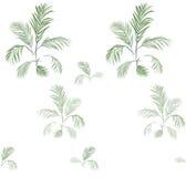 Palmeira pattern-01 ilustração do vetor