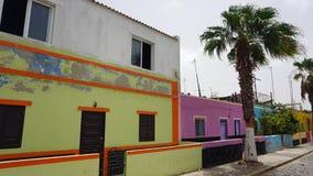 Palmeira village Stock Image