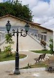 Palmeirasvierkant royalty-vrije stock afbeeldingen