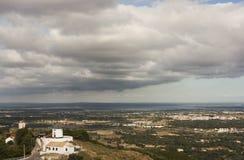 Palmela wiatraczki Zdjęcie Royalty Free