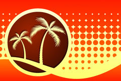 Palmen vektor abbildung