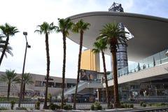 PALMEN - Las Vegas stockfotografie