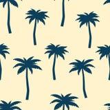 palmen Nahtloses vektormuster Lizenzfreie Stockbilder