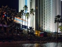 Palmen, toevluchthotel en de Rivier van Colorado Royalty-vrije Stock Fotografie