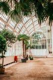 Palmenhaus che buiding Vienna fotografia stock libera da diritti