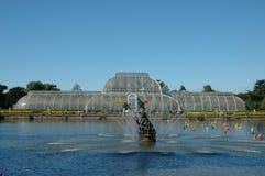 Palmenhaus in den Kew Gärten Lizenzfreie Stockfotos