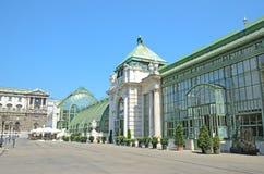Palmenhaus i Wien, Österrike royaltyfri fotografi