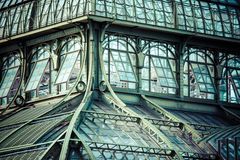 The Palmenhaus at palace Schoenbrunn, Vienna, Austria. Royalty Free Stock Images