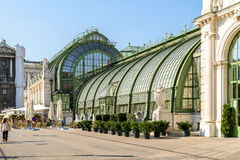 Palmenhaus Or The Palm House In Vienna Stock Images