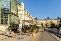 Palmenhaus Or The Palm House In Vienna Royalty Free Stock Image