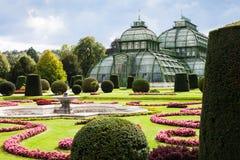Palmenhaus pavilion in Schonbrunn garden, Vienna Stock Photo