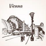 The Palmenhaus Schönbrunn - large greenhouse in Vienna, Austria Royalty Free Stock Photos