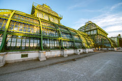 Palmenhaus in Schonbrunn gardens Stock Photos