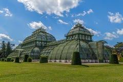 Palmenhaus Schonbrunn, Wien Stockfoto