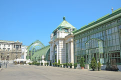 Palmenhaus in Vienna, Austria Royalty Free Stock Photography