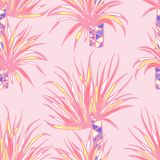 Palmenmusterentwurf stock abbildung