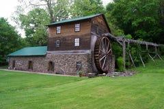 Palmer Grist Mill, Saltville, la Virginia, U.S.A. fotografia stock