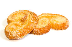 Palmera (Palmier) sweet puff pastry Stock Photos
