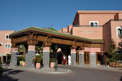 Palmeraie resort in Marrakesh, Morocco Royalty Free Stock Image