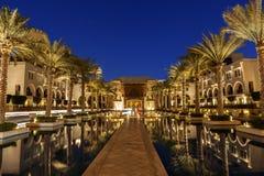 Palmeras Dubai Fotos de archivo libres de regalías